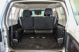 2009 Mitsubishi Pajero NT GLX LWB (4x4) Silver 5 Speed Auto Sports Mode Wagon