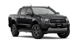 2021 Ford Ranger PX MkIII 2021.75MY Wildtrak Shadow Black 6 Speed Sports Automatic.