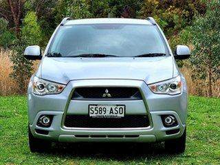 2011 Mitsubishi ASX XA MY11 Aspire Silver 6 Speed Constant Variable Wagon.