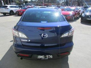 2011 Mazda 3 BL10F1 MY10 Neo Activematic Blue 5 Speed Sports Automatic Sedan