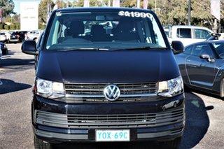 2017 Volkswagen Caravelle T6 MY17 TDI340 LWB DSG Black 7 Speed Sports Automatic Dual Clutch Wagon.