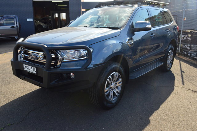 Pre-Owned Ford Everest UA MY17 Trend Wellington, 2016 Ford Everest UA MY17 Trend Blue 6 Speed Automatic Wagon