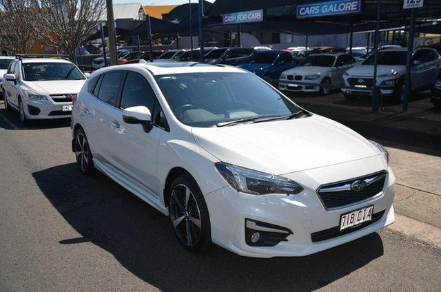 Used Subaru Impreza MY18 2.0I Premium (AWD) Toowoomba, 2018 Subaru Impreza MY18 2.0I Premium (AWD) White Continuous Variable Hatchback