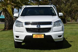 2016 Holden Colorado RG MY16 LS Space Cab White 6 Speed Sports Automatic Cab Chassis.