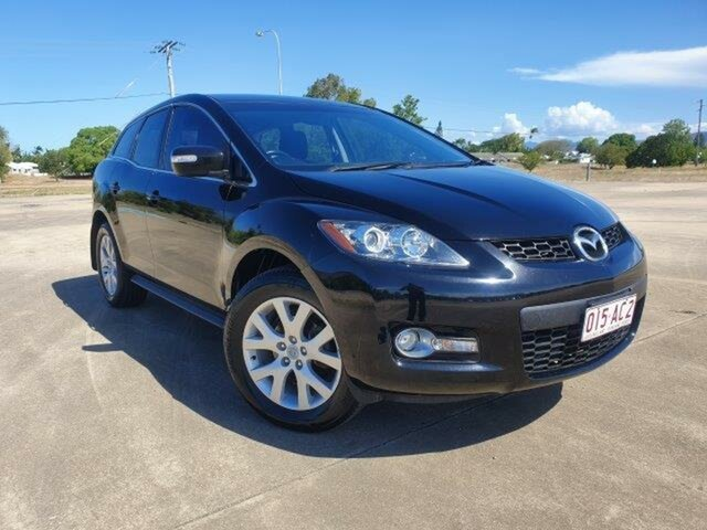 Used Mazda CX-7 ER1031 MY07 Classic Townsville, 2007 Mazda CX-7 ER1031 MY07 Classic Black 6 Speed Sports Automatic Wagon