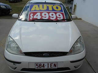 2003 Ford Focus LR MY2003 CL White 4 Speed Automatic Hatchback.