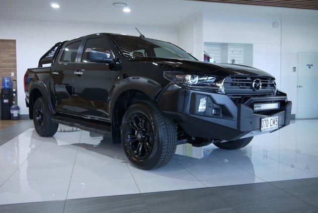 Demo Mazda BT-50 TFS40J Thunder Bundaberg, 2021 Mazda BT-50 TFS40J Thunder Black 6 Speed Sports Automatic Utility