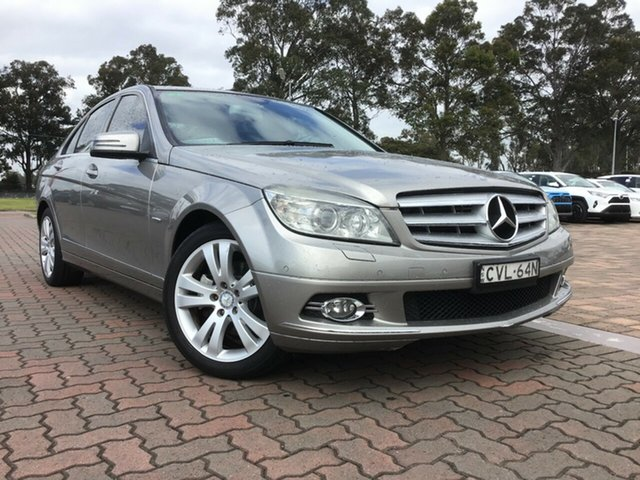 Pre-Owned Mercedes-Benz C-Class W204 C220 CDI Classic Warwick Farm, 2008 Mercedes-Benz C-Class W204 C220 CDI Classic Gold 5 Speed Automatic Sedan