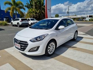 2016 Hyundai i30 GD4 Series 2 Active White 6 Speed Automatic Hatchback