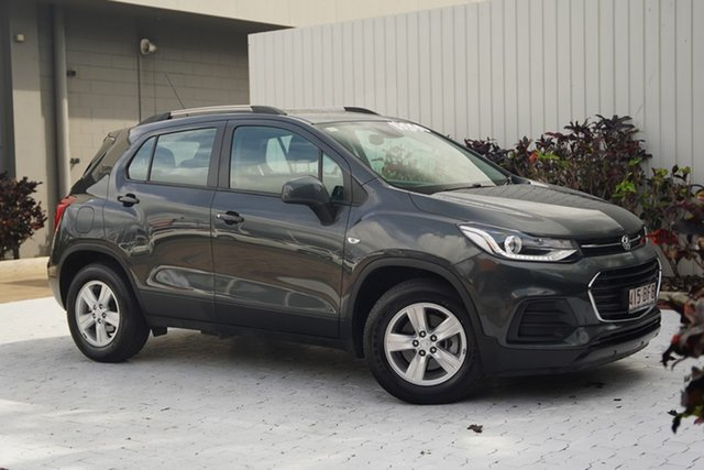 Used Holden Trax TJ MY17 LS Cairns, 2017 Holden Trax TJ MY17 LS Grey 6 Speed Automatic Wagon
