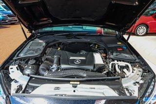 2014 Mercedes-Benz C-Class W205 C200 7G-Tronic + Black 7 Speed Sports Automatic Sedan
