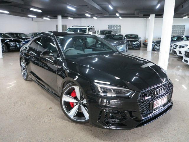 Used Audi RS5 F5 MY18 Tiptronic Quattro Albion, 2017 Audi RS5 F5 MY18 Tiptronic Quattro Black 8 Speed Sports Automatic Coupe