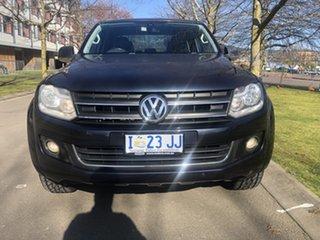 2013 Volkswagen Amarok 2H MY14 TDI420 4Motion Perm Highline Blue 8 Speed Automatic Utility