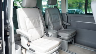 2005 Volkswagen Multivan T5 Highline Black 6 Speed Sports Automatic Wagon