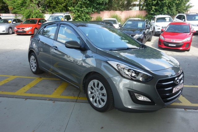 Used Hyundai i30 GD4 Series II MY17 Active East Maitland, 2016 Hyundai i30 GD4 Series II MY17 Active Silver 6 Speed Sports Automatic Hatchback