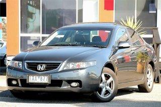 2004 Honda Accord Euro CL Luxury Grey 5 Speed Automatic Sedan.