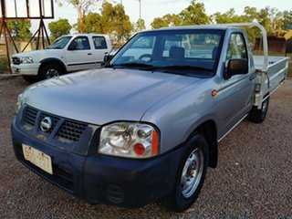 2003 Nissan Navara D22 MY2003 DX 4x2 Silver 5 Speed Manual Cab Chassis.
