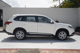 2021 Mitsubishi Outlander ZL MY21 ES AWD White 6 Speed Constant Variable Wagon.