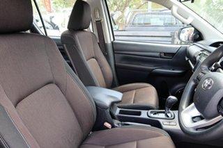 2018 Toyota Hilux GUN126R SR White 6 Speed Sports Automatic Dual Cab