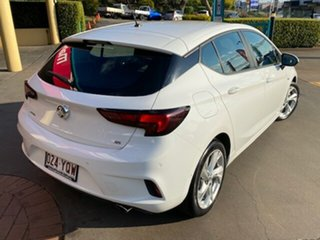 2017 Holden Astra BK MY17 RS White 6 Speed Automatic Hatchback