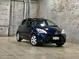 2020 Toyota Yaris NCP130R Ascent Blue 4 Speed Automatic Hatchback.