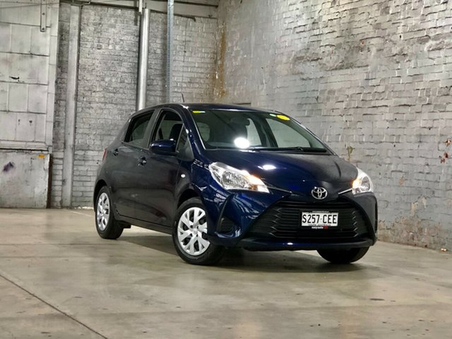 Used Toyota Yaris NCP130R Ascent Mile End South, 2020 Toyota Yaris NCP130R Ascent Blue 4 Speed Automatic Hatchback