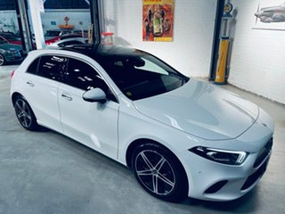 2019 Mercedes-Benz A-Class W177 800MY A250 DCT White 7 Speed Sports Automatic Dual Clutch Hatchback.