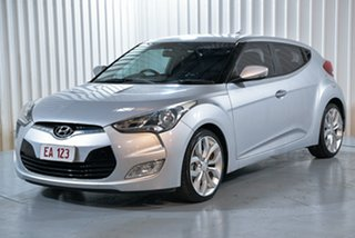 2015 Hyundai Veloster FS4 Series II Coupe D-CT Grey 6 Speed Sports Automatic Dual Clutch Hatchback.