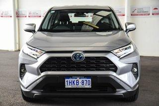 2020 Toyota RAV4 Axah52R GX 2WD Silver Sky 6 Speed Constant Variable Wagon Hybrid.