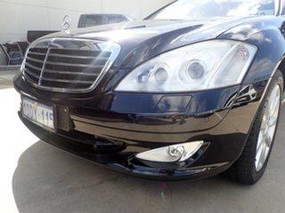 2006 Mercedes-Benz S500 221 Black Magic 7 Speed Automatic G-Tronic Sedan