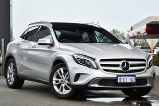 2015 Mercedes-Benz GLA-Class X156 806MY GLA250 DCT 4MATIC Silver 7 Speed.