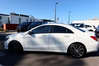 2015 Mercedes-Benz CLA-Class C117 806MY CLA200 DCT White 7 Speed Sports Automatic Dual Clutch Coupe