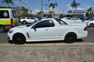 2016 Holden Ute Vfii MY16 SS Black Edition White 6 Speed Automatic Utility