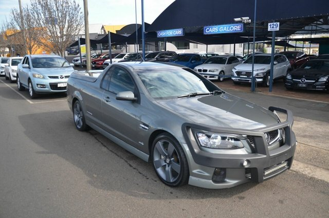 Used Holden Commodore VE II MY12 SV6 Thunder Toowoomba, 2012 Holden Commodore VE II MY12 SV6 Thunder Green 6 Speed Automatic Utility