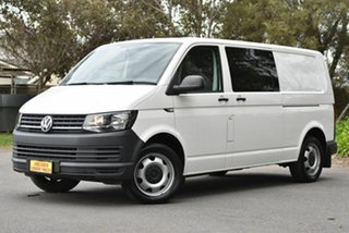 2017 Volkswagen Transporter T6 MY17 TDI400 LWB DSG White 7 Speed Sports Automatic Dual Clutch Van