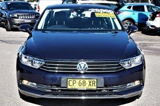 2016 Volkswagen Passat 3C (B8) MY17 140TDI DSG Highline Night Blue 6 Speed.