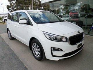 2019 Kia Carnival YP PE MY19 S White 8 Speed Automatic Wagon