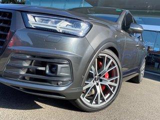 2019 Audi SQ7 4M MY19 4.0 TDI V8 Quattro Samurai Grey 8 Speed Automatic Tiptronic Wagon.