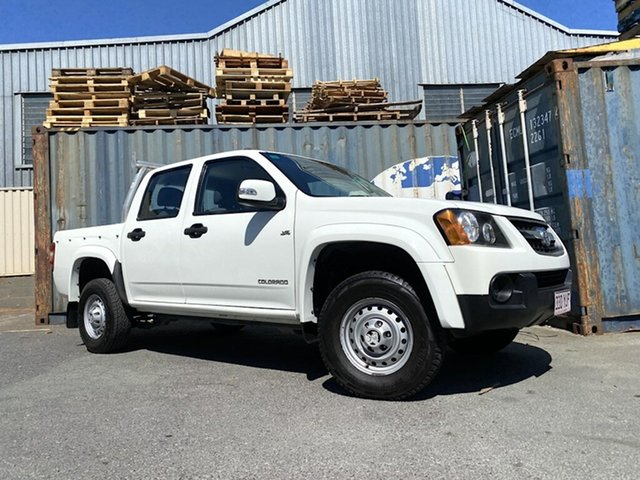 Used Holden Colorado RC MY11 LX Crew Cab 4x2 Slacks Creek, 2011 Holden Colorado RC MY11 LX Crew Cab 4x2 White 4 Speed Automatic Utility
