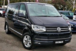 2019 Volkswagen Multivan T6 MY19 TDI450 LWB DSG Executive Black 7 Speed Sports Automatic Dual Clutch.