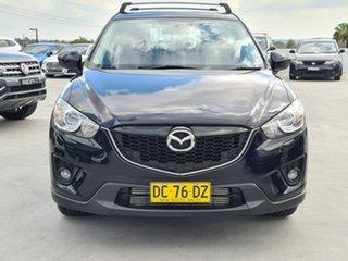 2014 Mazda CX-5 KE1021 MY14 Grand Touring SKYACTIV-Drive AWD Black 6 Speed Sports Automatic Wagon.