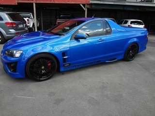 2008 Holden Special Vehicles Maloo E Series MY08 Upgrade R8 Blue 6 Speed Manual Utility.