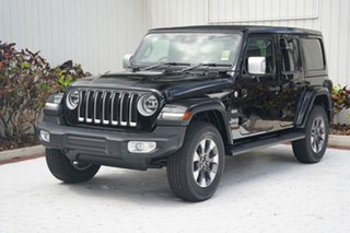 2021 Jeep Wrangler JL MY21 Unlimited Overland Gloss Black 8 Speed Automatic Hardtop