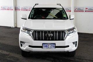 2021 Toyota Landcruiser Prado GDJ150R GXL Glacier White 6 Speed Automatic Wagon.