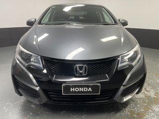 2015 Honda Civic 9th Gen Ser II MY15 VTi Polished Metal 5 Speed Sports Automatic Sedan.