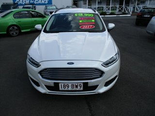 2017 Ford Mondeo AMBIENTE White 6 Speed Automatic Wagon.