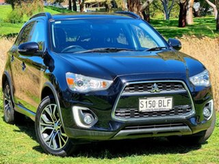 2016 Mitsubishi ASX XB MY15.5 XLS 2WD Black 6 Speed Constant Variable Wagon.