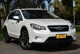 2012 Subaru XV G4X MY12 2.0i-S AWD White 6 Speed Manual Wagon.