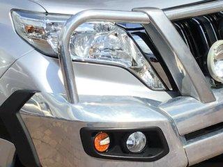 2016 Toyota Landcruiser Prado GDJ150R GXL Silver 6 Speed Sports Automatic SUV.
