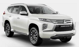 2021 Mitsubishi Pajero Sport QF MY21 GLX White 8 Speed Sports Automatic Wagon